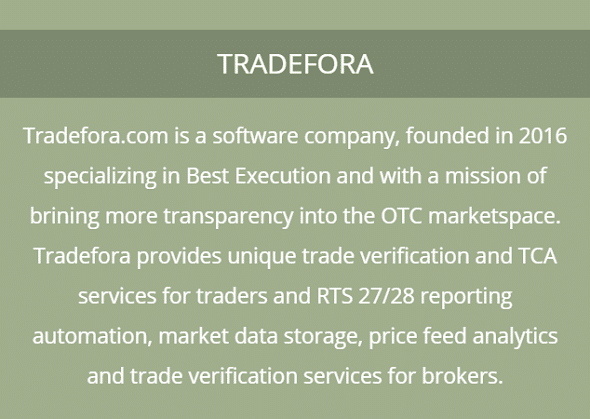 Tradefora - Company description - Mobile version